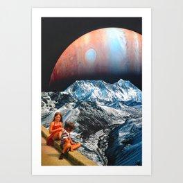 We Float Art Print
