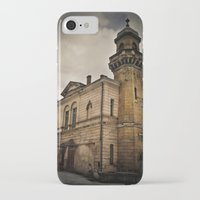 dark tower iPhone & iPod Cases featuring Dark Tower by Contrasens
