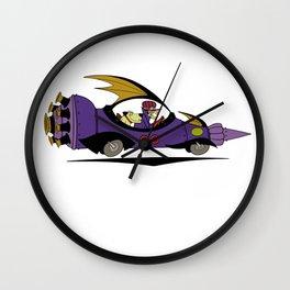 The Mean Machine Wall Clock