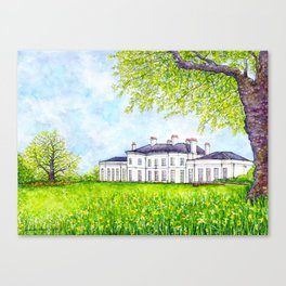 Hylands House, Chelmsford Canvas Print