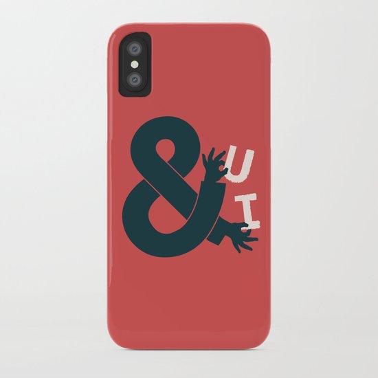 You and I, Ampersand iPhone Case