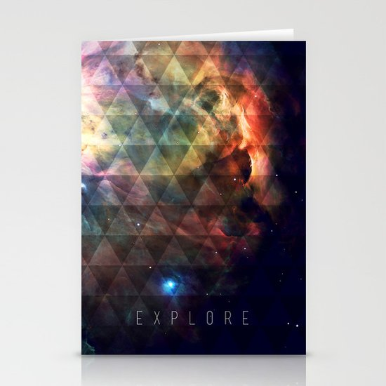 Explore II Stationery Cards