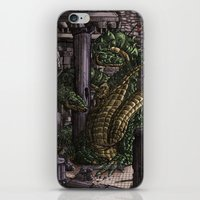 hydra iPhone & iPod Skins featuring Hydra  by Joseph Stansbury Illustration