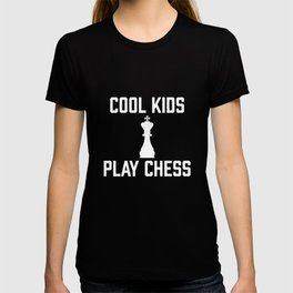 Cool Kids Play Chess - National Chess Day Chess Pieces T-shirt