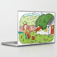 beaver Laptop & iPad Skins featuring Beaver Love by Clayton (CTON) Hanmer