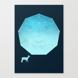 Deer god Canvas Print