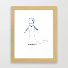 tada Framed Art Print