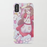 bee and puppycat iPhone & iPod Cases featuring Bee & puppycat ver 2 by Kurodoj