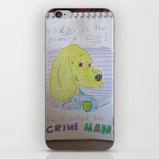 Bootleg Series: Crime Man iPhone & iPod Skin