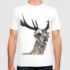 Life and Death MEDIUM Mens Fitted Tee White