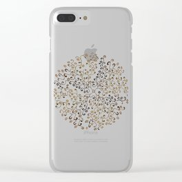 Vine fly Clear iPhone Case