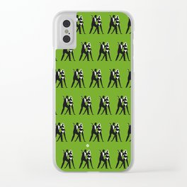 Green Dr No Clear iPhone Case