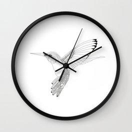 Kolibri sketch Wall Clock