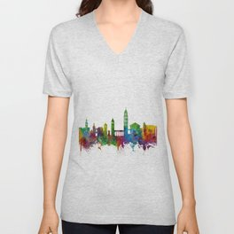 Split Croatia Skyline Unisex V-Neck