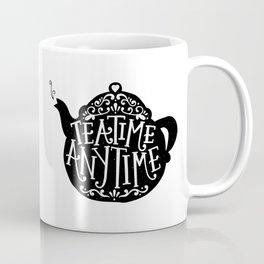 TEA TIME. ANY TIME. Coffee Mug