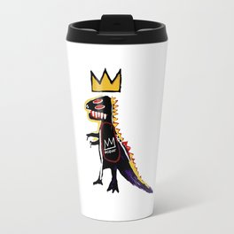 Basquiat Dinosaur King Travel Mug