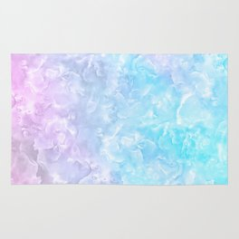 Pastel Scaly Marble Texture Rug