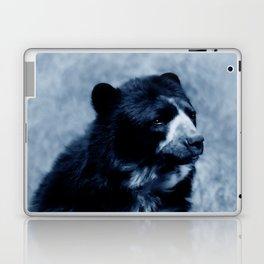 Black bear contemplating life Laptop & iPad Skin