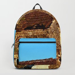 Abandoned Country Barn Backpack