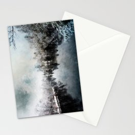 Winter on the Menominee Stationery Cards