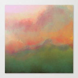 Fiery Morning Canvas Print