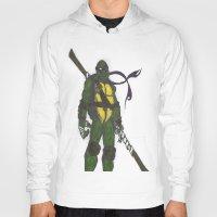 ninja turtles Hoodies featuring Ninja Turtles Donatello by minusblindfold