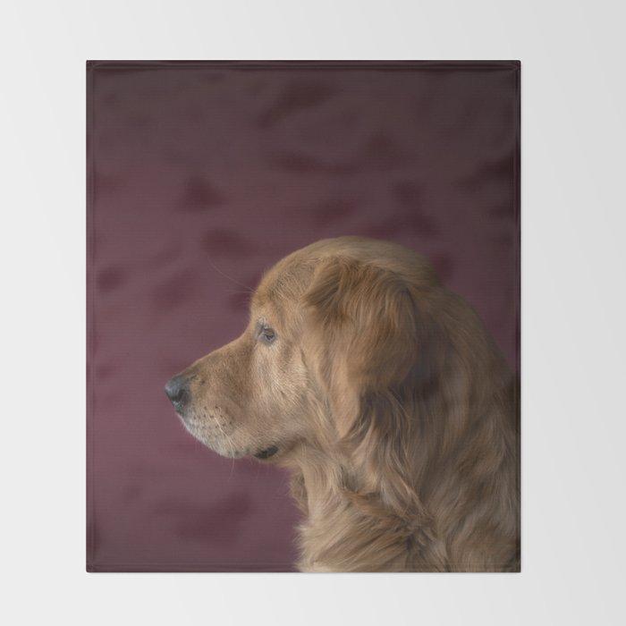 The Dog Throw Blanket