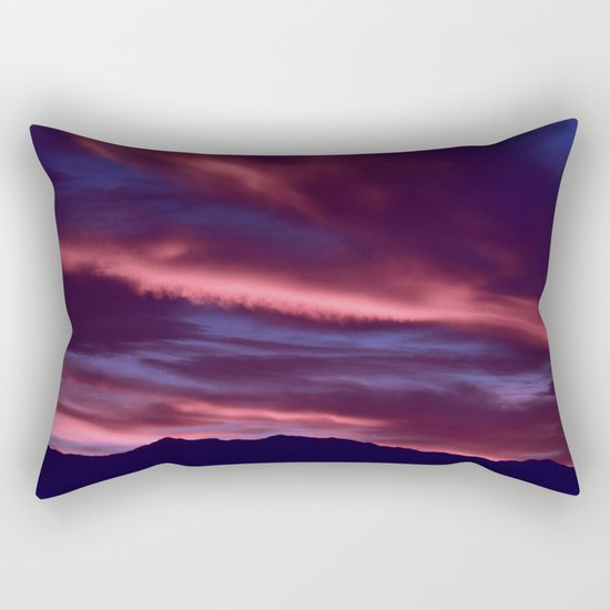 SW Serenity Rose Sunrise Rectangular Pillow
