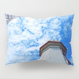 North Cape Lighthouse and Communication Tower Pillow Sham