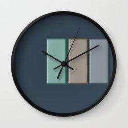 The Plan Wall Clock