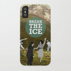 Break The Ice Slim Case iPhone X