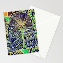 Jardin 4 Stationery Cards