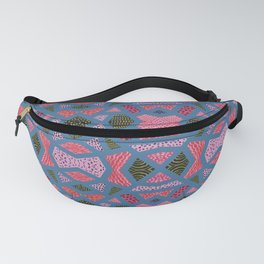The collage of casual shapes Fanny Pack