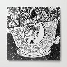 Stilllife with a mug Metal Print