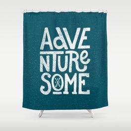 Adventuresome Shower Curtain