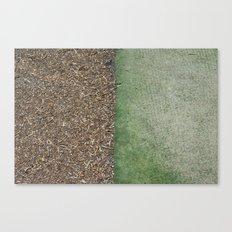 Grass and Mulch Canvas Print