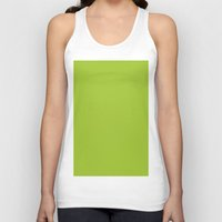 android Tank Tops featuring Android Green by List of colors
