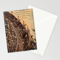 life is like .... Stationery Cards