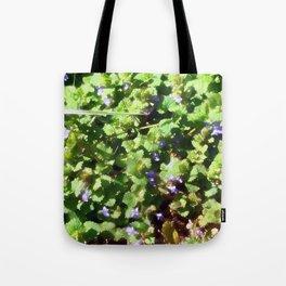 Ground Ivy 05 Tote Bag
