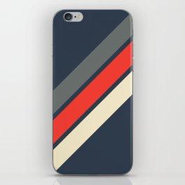 3 Retro Stripes #4 iPhone Skin