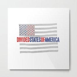 divided states of america Metal Print