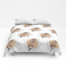 The Tea Otter Comforters