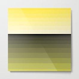 Stripes. 34 - sunset Metal Print