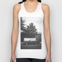 old school Tank Tops featuring Old School by I am Dappa