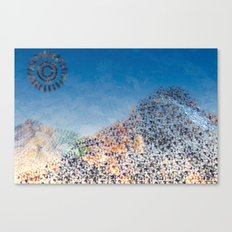 Mountain Series - Midday Canvas Print