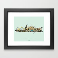 The Life Aquatic with Steve Zissou | Belafonte Framed Art Print