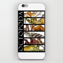 Octopus of the World iPhone Skin