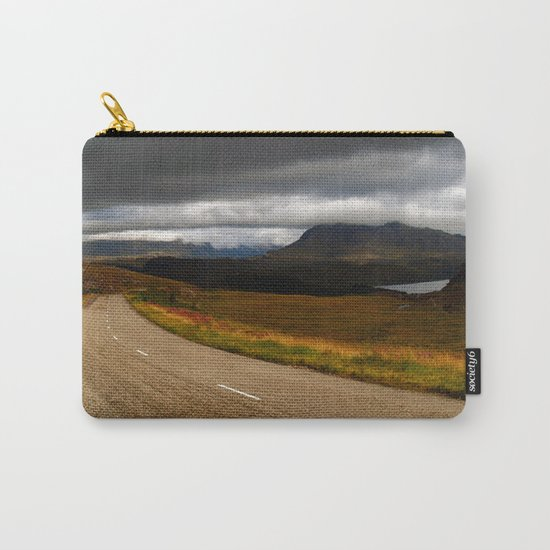 The Road to Poolewe Carry-All Pouch