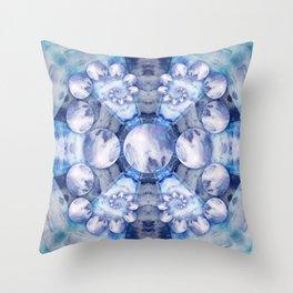 Resinate Mandala Throw Pillow