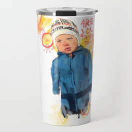 Kids with attitudes Travel Mug